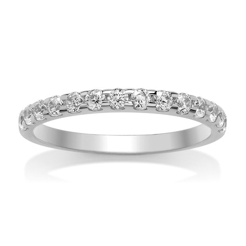 White Gold Diamond Set Wedding Ring